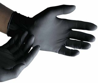 Nitrile Black PowderFree Gloves XLarge - Selfgard