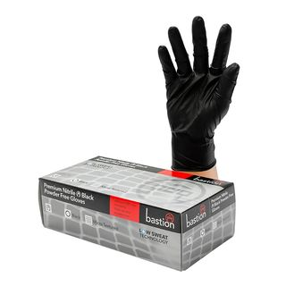 Nitrile Black P/F Gloves Premium 2XL - UniPak