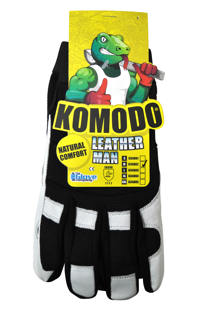 Leather Man Gloves XL - Komodo