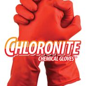 Chloronite Lightweight Chemical Resistant Gloves Pairs Medium - TGC