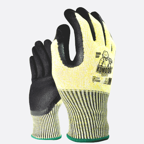 Cut 3 Gloves Pairs Small - Komodo