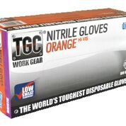 Nitrile Orange Premium PowderFree Large - TGC