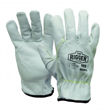 The Esko Rigger'  Premium Natural Rigger with Kevlar stitching XL - Esko