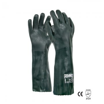 GREEN SHIELD' PVC double dipped glove, 45cm - Esko