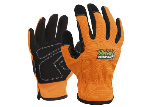 POWERMAXX' 'Active' Synthetic Mechanics Style Glove Medium - Esko