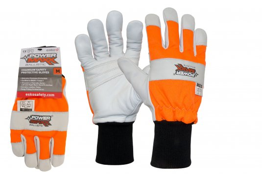 POWERMAXX Ballistic Class 1 Chainsaw Protection Glove Small - Esko