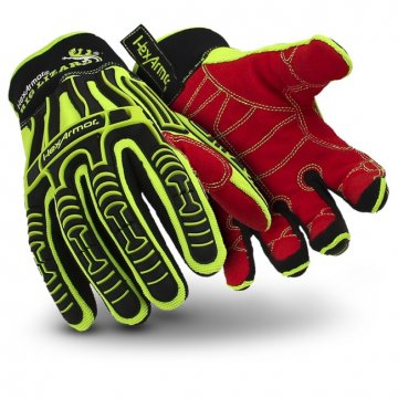 RIG LIZARD' Glove, Cut Level 3, Impact Resistant XL - Esko